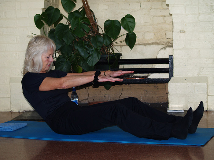 Pilates classes in Wincherster